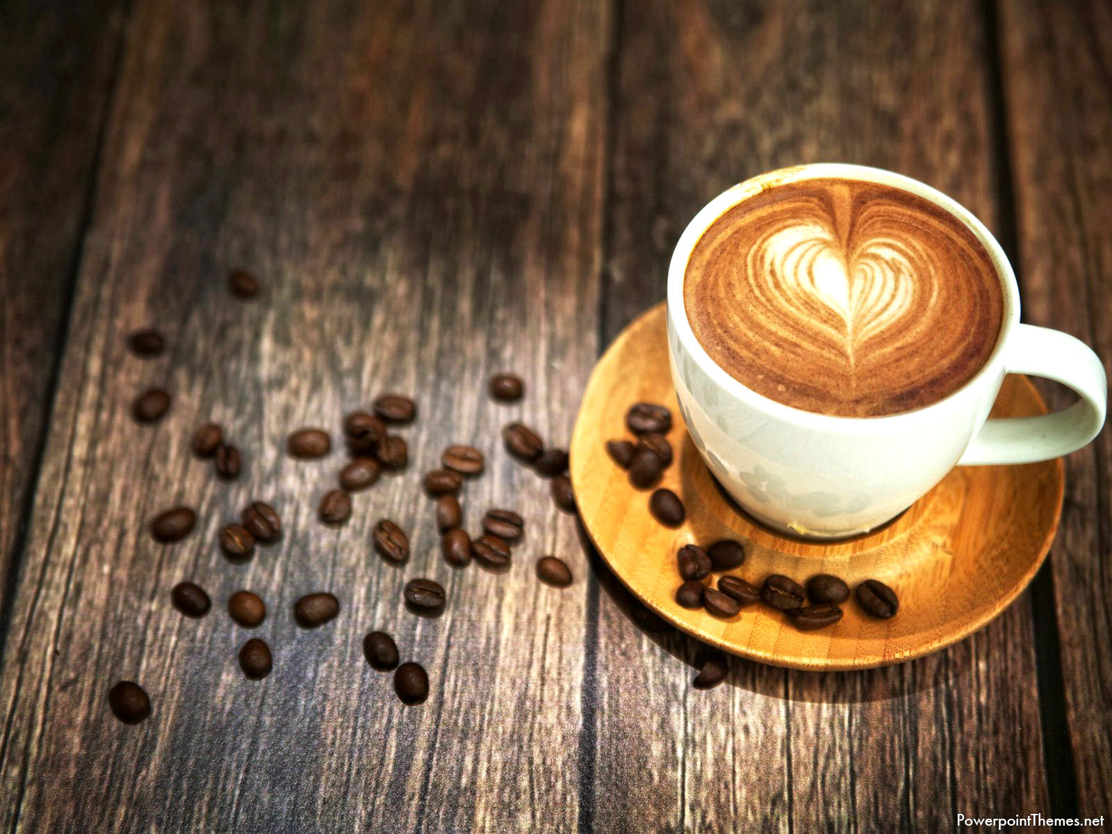 Hot Coffee Powerpoint Background