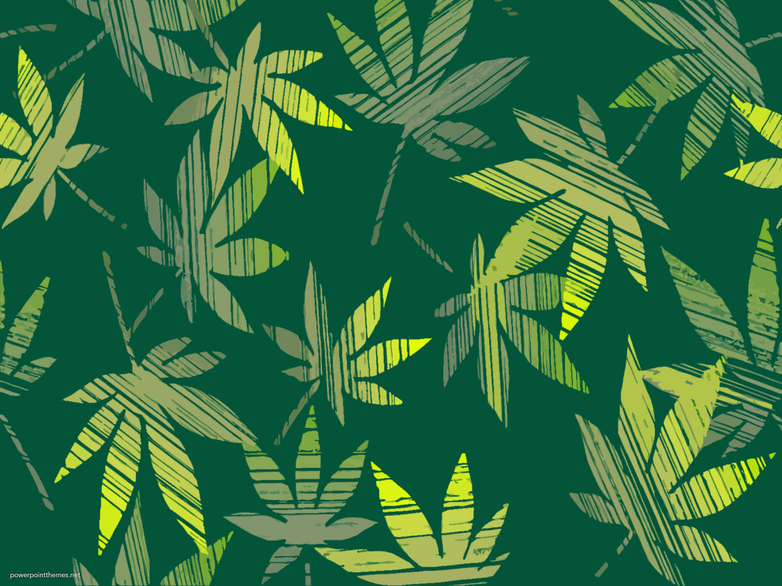 Leaves Painting Background