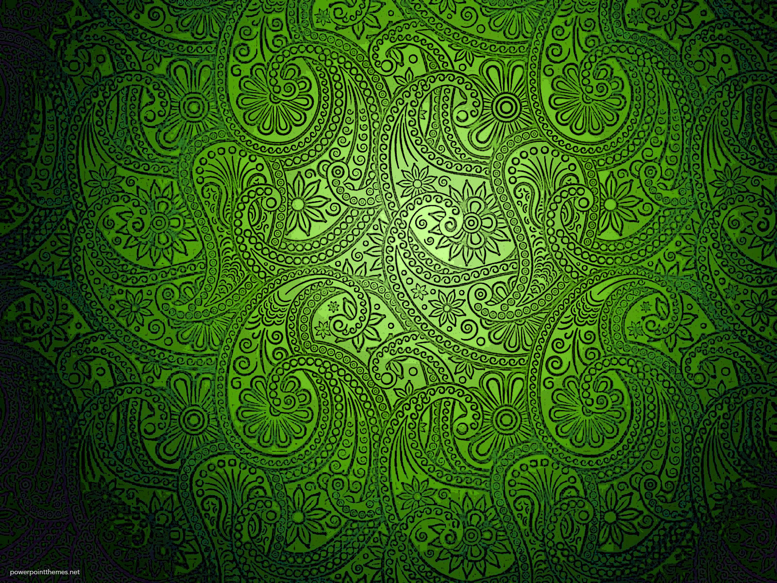 Modern Green Batik Background
