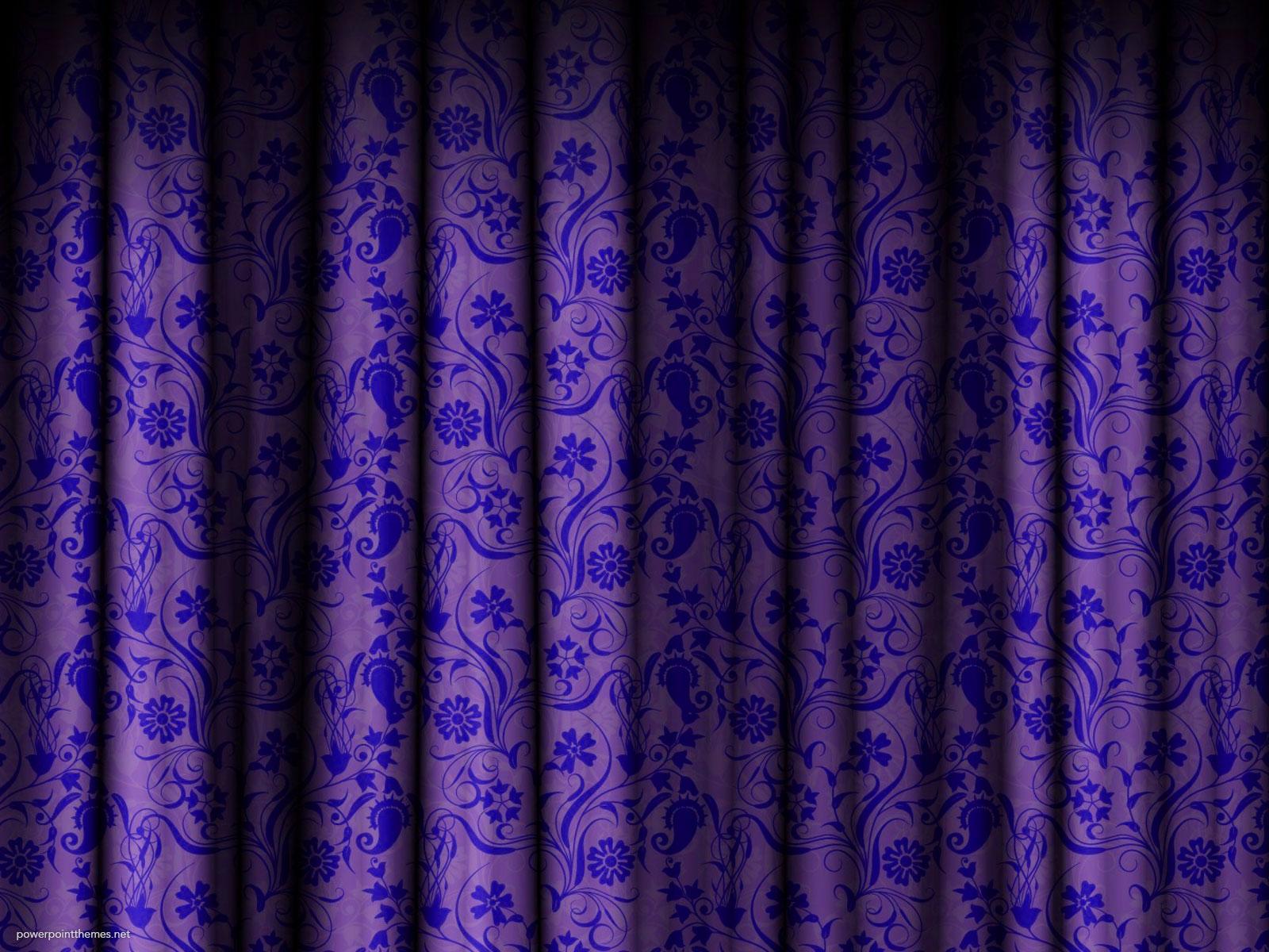 Purple Curtain Background