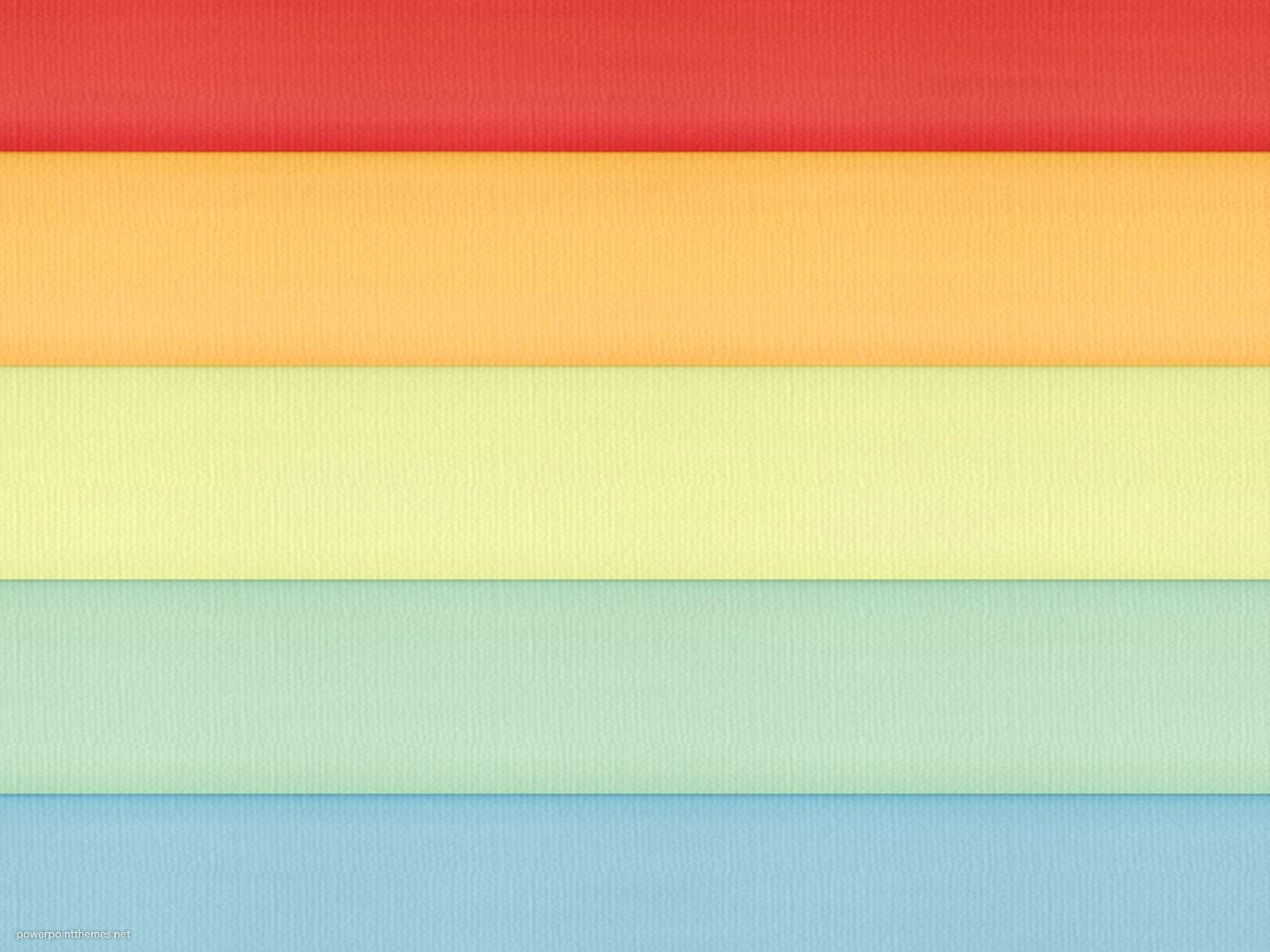 Rainbow Panel Background Powerpoint Themes