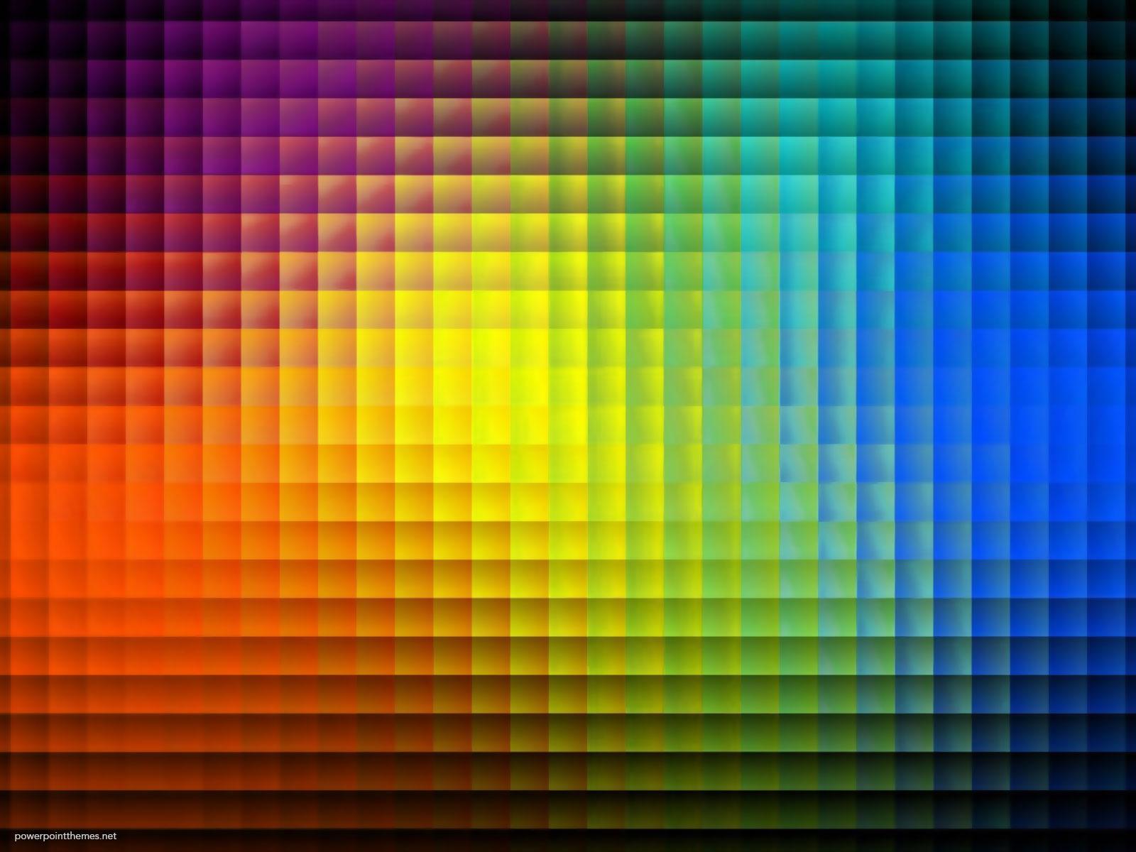 Rainbow Tile Background