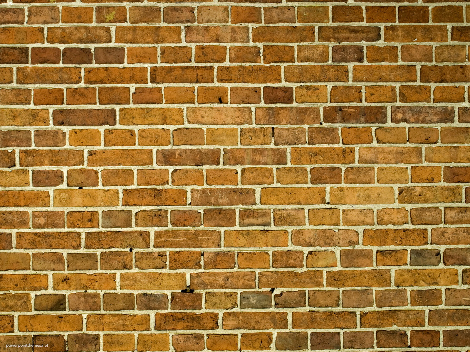 Wall Brick Background For Powerpoint