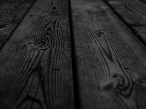 Black Wood Perspective Background