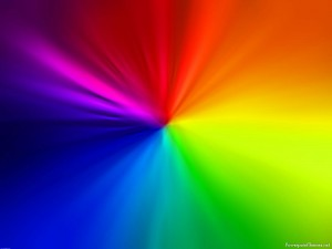 Rainbow Presentation Background