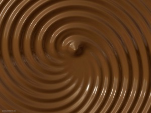 Chocolate Cream Background
