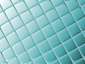 Fresh Blue Tile Background