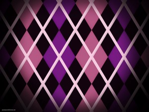 Pink Purple Diamond Shape Background