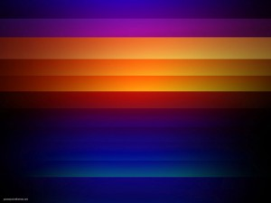 Purple Orange Stripe HDR Background