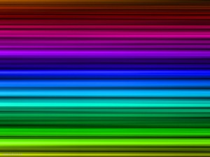 Rainbow Stripe HDR Background